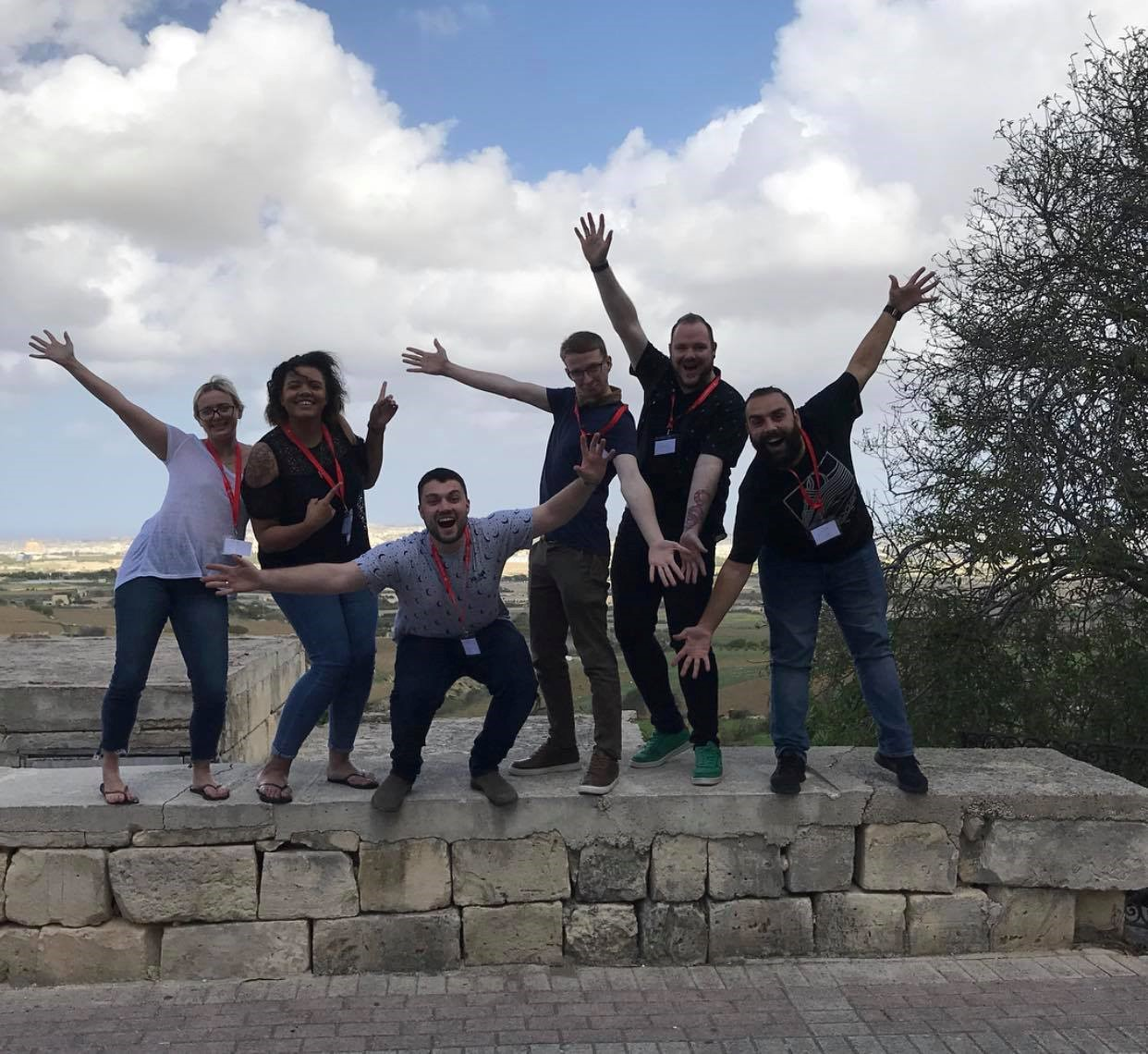 Malta pushing boundaries JCI UK delegates